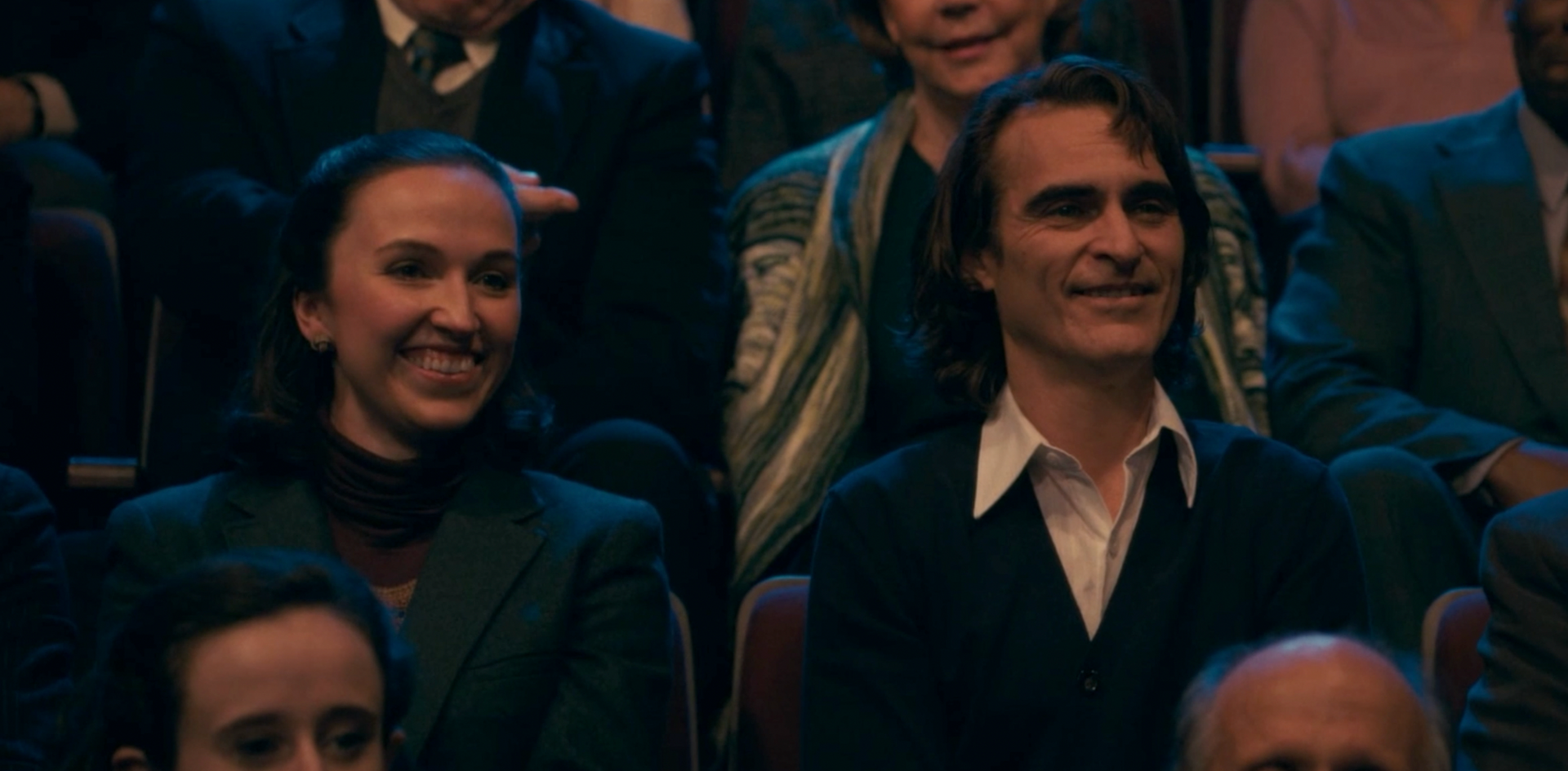 Joker feature pictured with Joaquin Phoenix