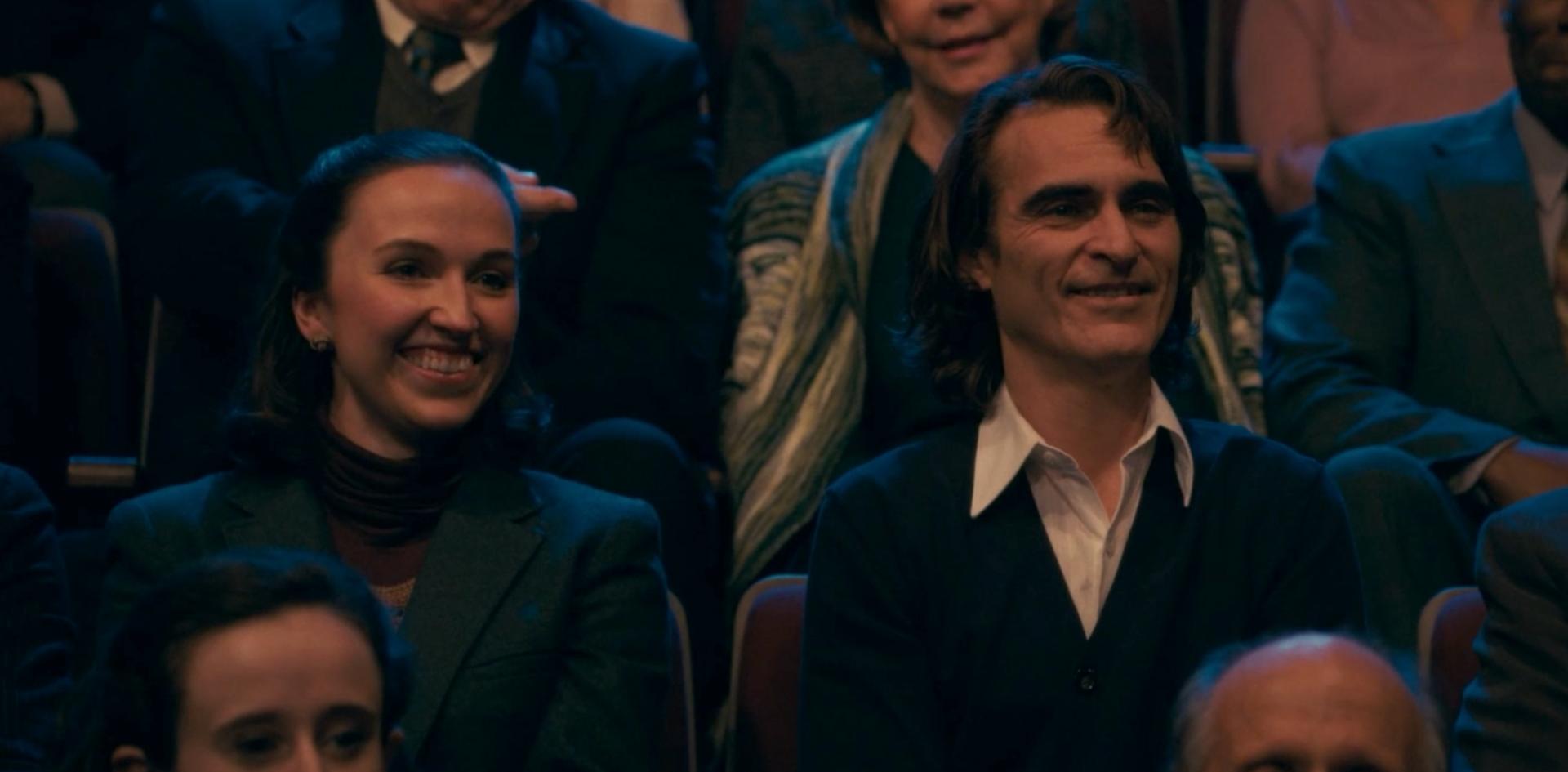 Joker feature pictured with Joaquin Phoenix