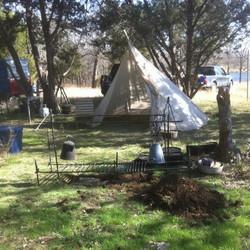 Charcloth Camping