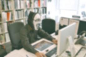 BUSINESS WRITING scream mask.jpg