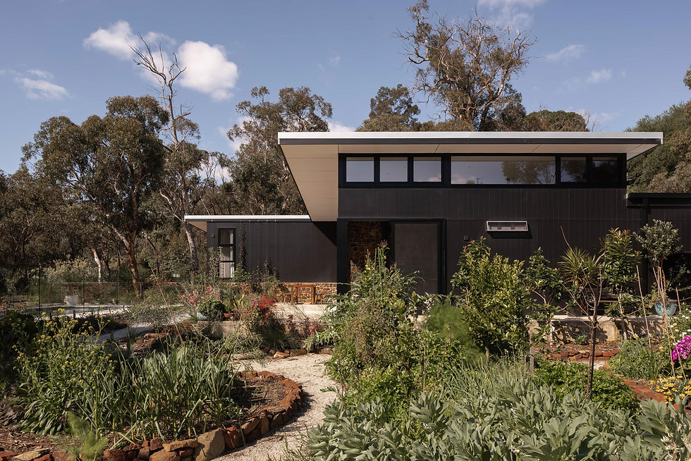 Nyaania Creek Darlington Residence  - Vegie Garden