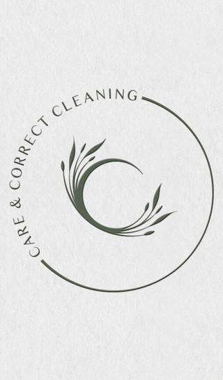 CARE & CORRECT CLEANING, BRANDING, LOGO BRANDING LOGO