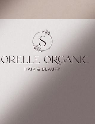 SORELLE ORGANIC HAIR & BEAUTY, BRANDING, LOGO DESIGN