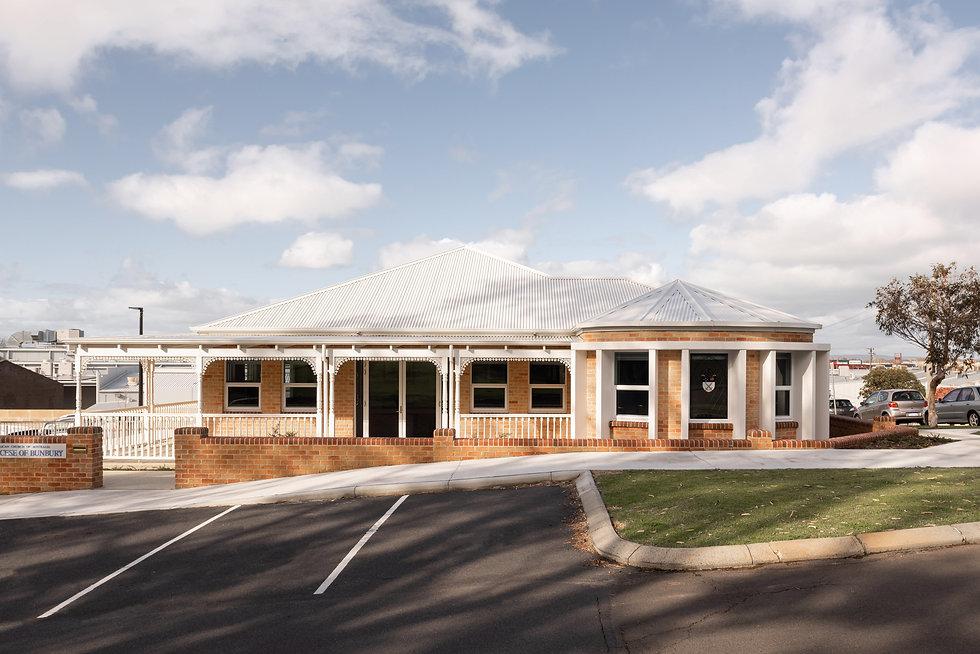 Bunbury Anglican Diocesan Office Building – Oakley Street Building Streetscape