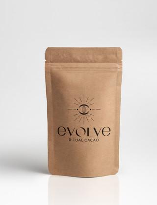 EVOLVE RITUAL CACAO, BRANDING, LOGO
