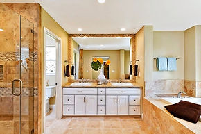 Quality Bathroom Cabinets by Clark Cabinets and Intalls