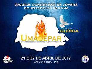 CONGRESSO UMADEPAR - O CADASTRO DE CARAVANAS VAI ATÉ O DIA 28 DE FEVEREIRO.