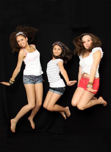 'Rae, Karis & Milly'