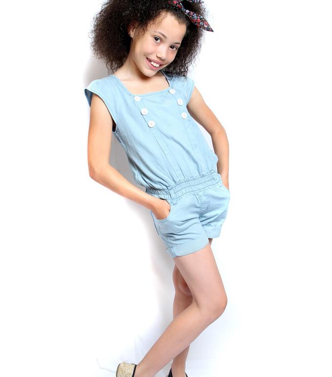 Child Modeling Shoot