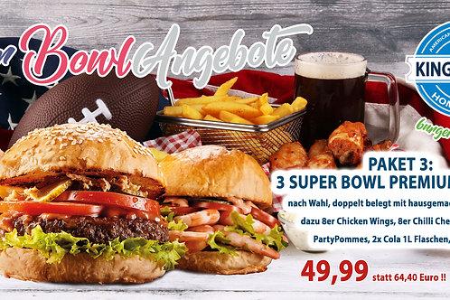 Super Bowl Paket 3