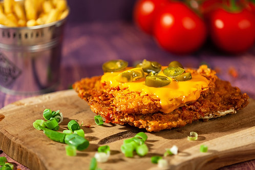 Chilli Cheese Schnitzel
