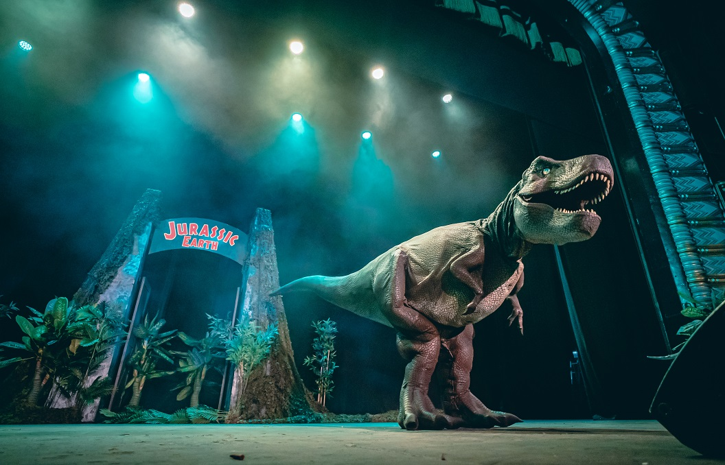 Jurassic Earth Theatre Show Zeus T Rex