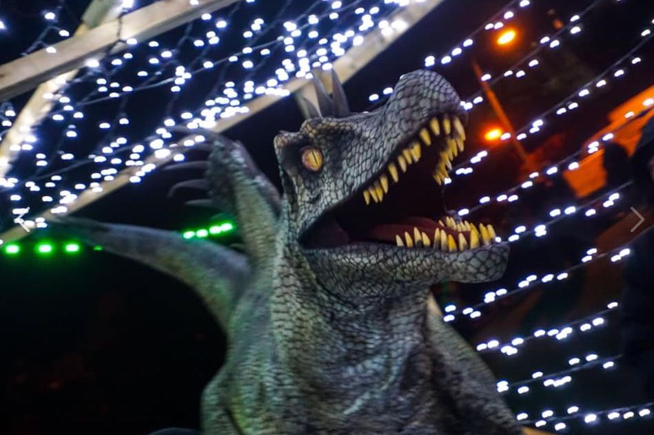 Hire a Spinosaurus Dinosaur