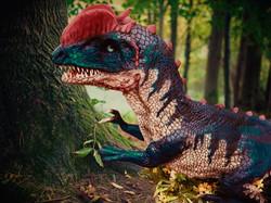 Hire a Talking Dinosaur