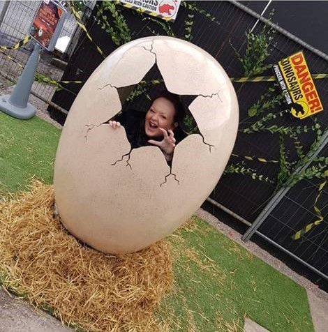 Hire a Dinosaur Egg