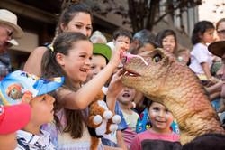 Hire a Baby Brontosaurus Dinosaur