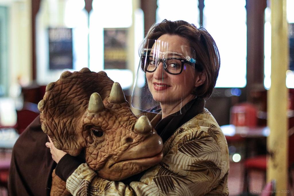 Jurassic Earth Theatre Show meet a baby