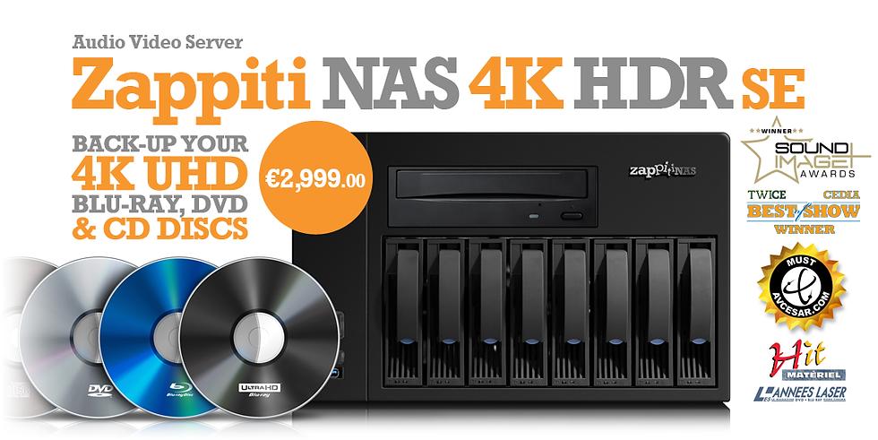 Buy the Zappiti NAS 4K HDR SE on the Zappiti Store