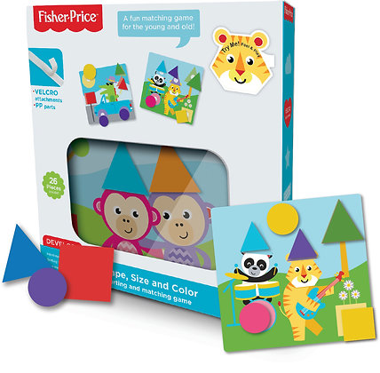 Shape, Size and Color - Sorting and Matching Game