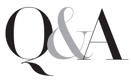 Q & A with DMK