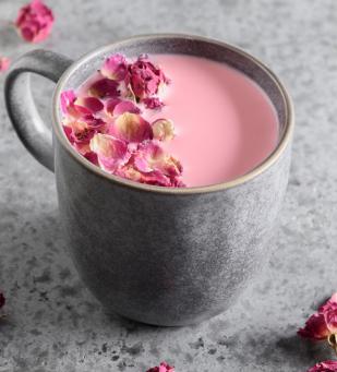 Recipe: Dreamy Pink Moon Milk