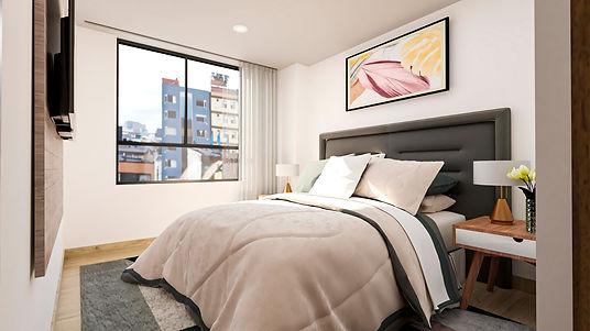 render habitacion urban 73 apartamentos