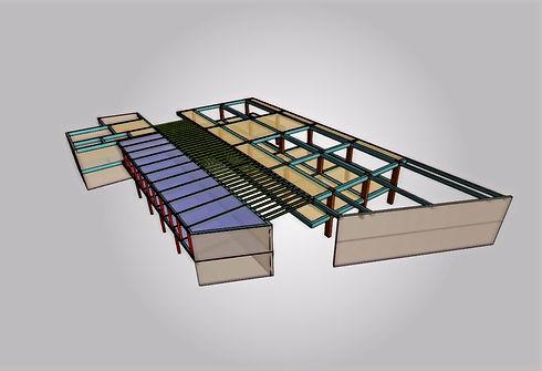 Diseño estructural, vulverabilidad estructural, modelado en cipe de kriba ingenieros