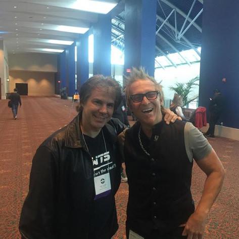 Hanging with Mark Schulman in San Antoni