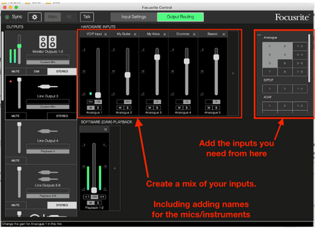 USING FOCUSRITE AUDIO INTERFACES ON WINDOWS WITH ZOOM OR SKYPE