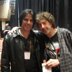 Me and Simon! Amazing playing and a grea