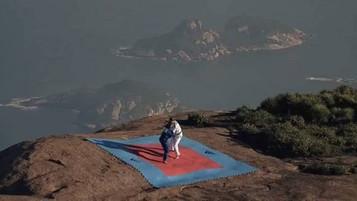 Pedra da Gávea é o novo palco de campanha da Adidas