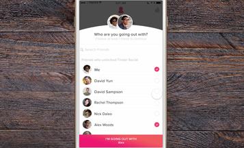 Tinder lança rede social com lista de amigos do Facebook que estão no aplicativo