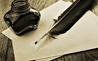 Marketing de conteúdo, caneta antiga
