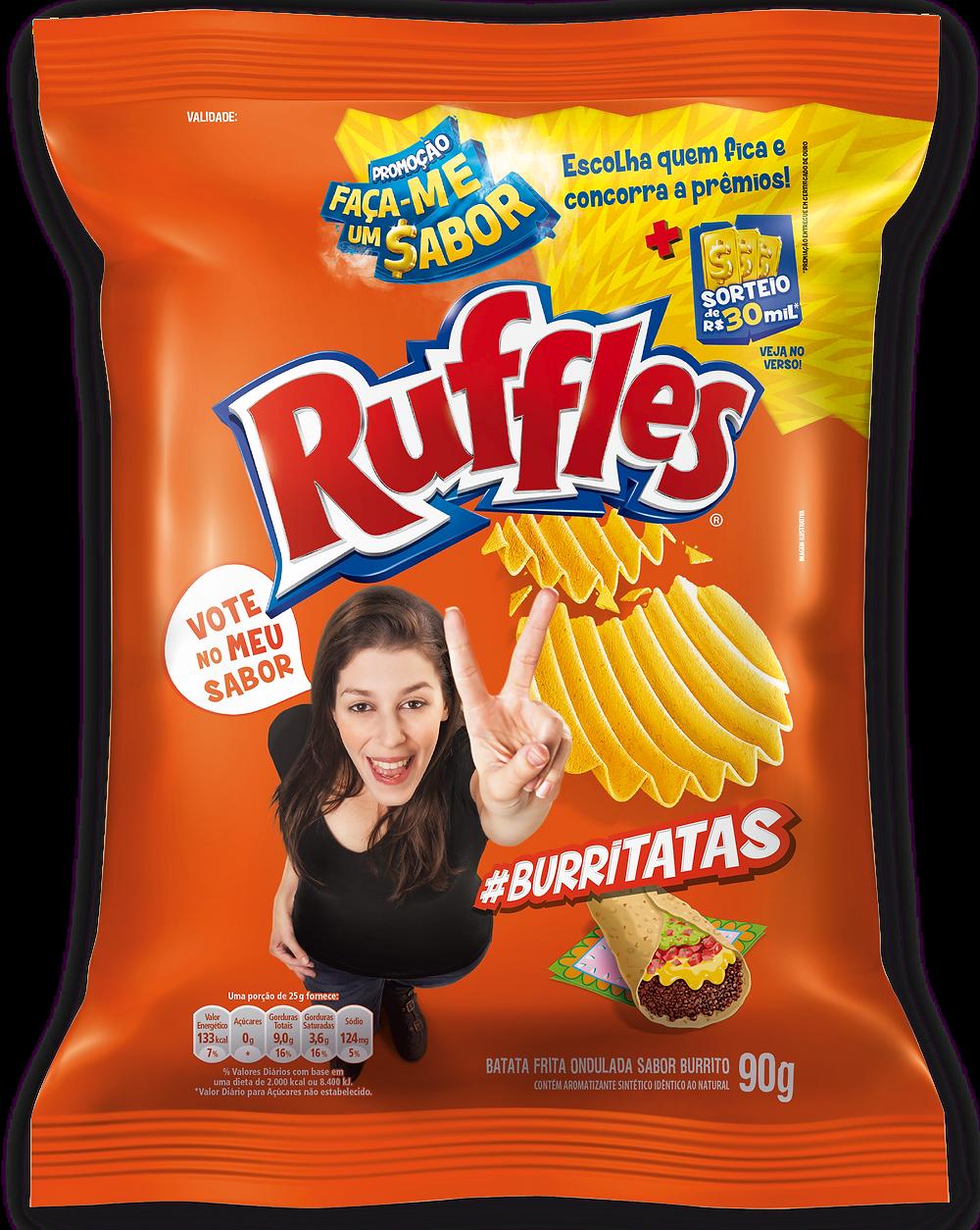 Ruffles burritadas