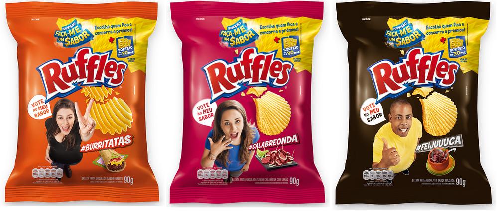 Ruffles, Ruffles sabores, Agência de propaganda