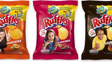 """Ruffles anuncia finalistas da promoção """"Faça-me um sabor"""": Burritos, Calabresa e Feijoada"""