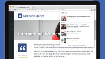 Facebook anuncia novas extensões para Chrome