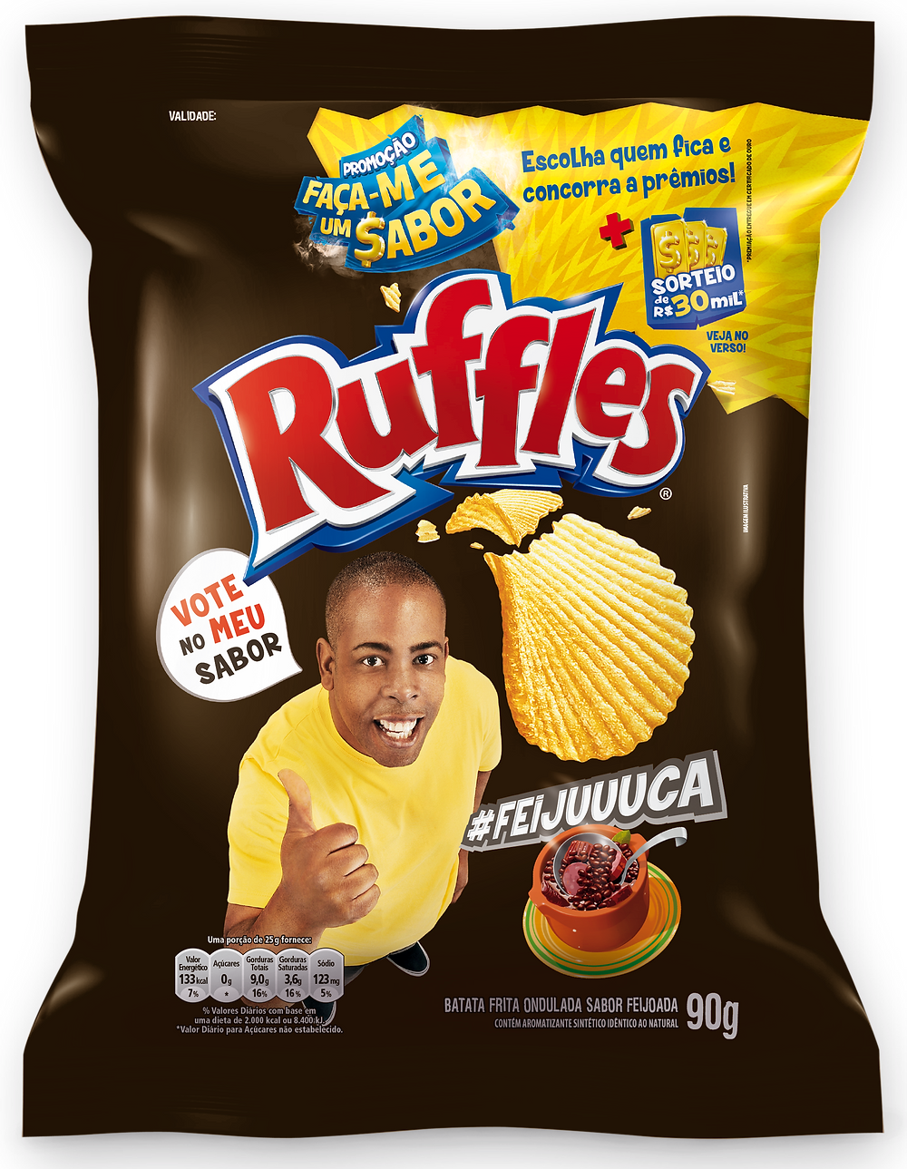 Ruffles Feijuuuca