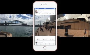 Facebook disponibiliza fotos em 360 graus