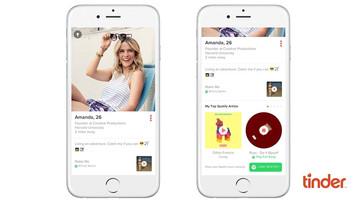 Tinder e Spotify se integram para exibir músicas favoritas no perfil do usuário