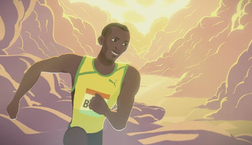Gatorade conta a rápida ascensão de Usain Bolt em curta-metragem