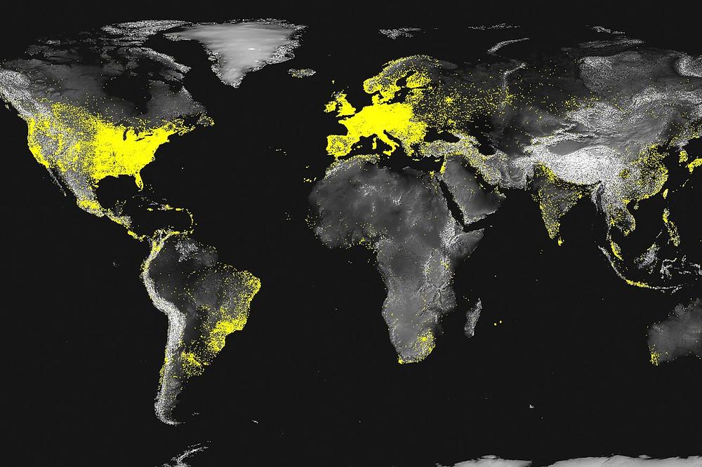 Acesso à internet pelo mundo