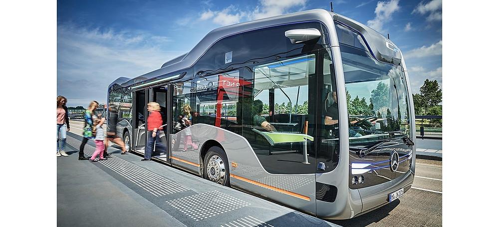 mercedes-bens future bus