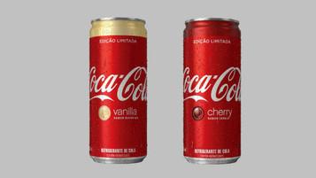 Coca-Cola lança versões de cereja e baunilha no Brasil