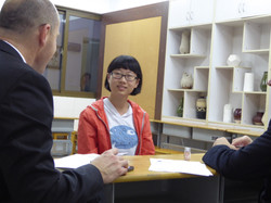 Chinese student interview July 2015
