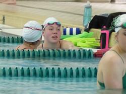 Rebekah Bradley UNT Swim Team
