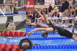 Rebekah Bradley Ohio State swimmer