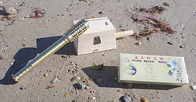 Moxibustion (tiger warmer, boîte à moxa, moxas en bâtonnet)