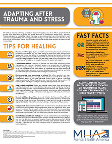 Fact Sheet - Adapting After Trauma and S