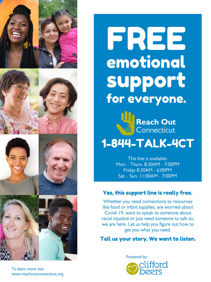 Free Emotional Support in English & Spanish